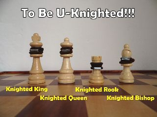 Knighted Chesspieces