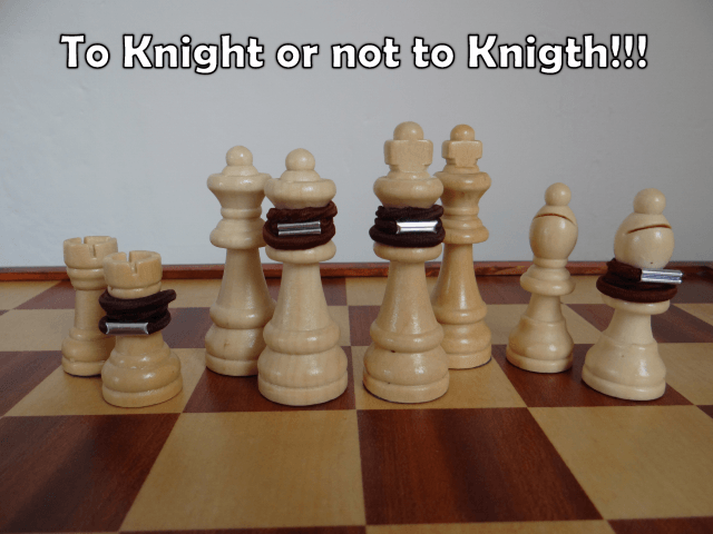 Knighted pieces